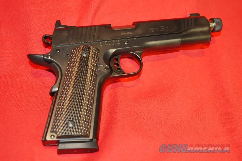 NIB REMINGTON 1911 R1, .45 ACP, ENHANCED W/FACTORY THREADED BARREL  Guns > Pistols > Remington Pistols - Modern > 1911