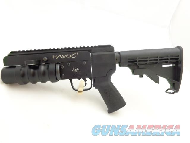 "NIB SPIKES TACTICAL ""HAVOC"" 37MM- 9? STAND ALONE LAUNCHER  Non-Guns > Launchers - Non Lethal"