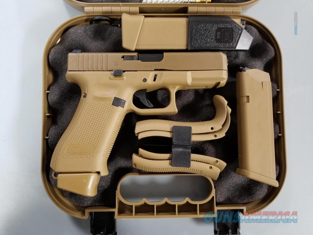 NIB GLOCK 19X – 9MM SEMI-AUTO PISTOL, FACTORY NS, COYOTE TAN  Guns > Pistols > Glock Pistols > 19/19X