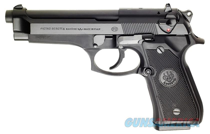 "NIB BERETTA 92FS ""BLACK"" 9MM SEMI-AUTO PISTOL  Guns > Pistols > Beretta Pistols > Model 92 Series"