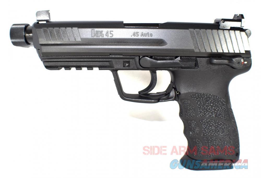 """NIB HK45T """"TACTICAL"""", .45ACP, THREADED-BARREL, NIGHT SIGHTS  Guns > Pistols > Heckler & Koch Pistols > Polymer Frame"""