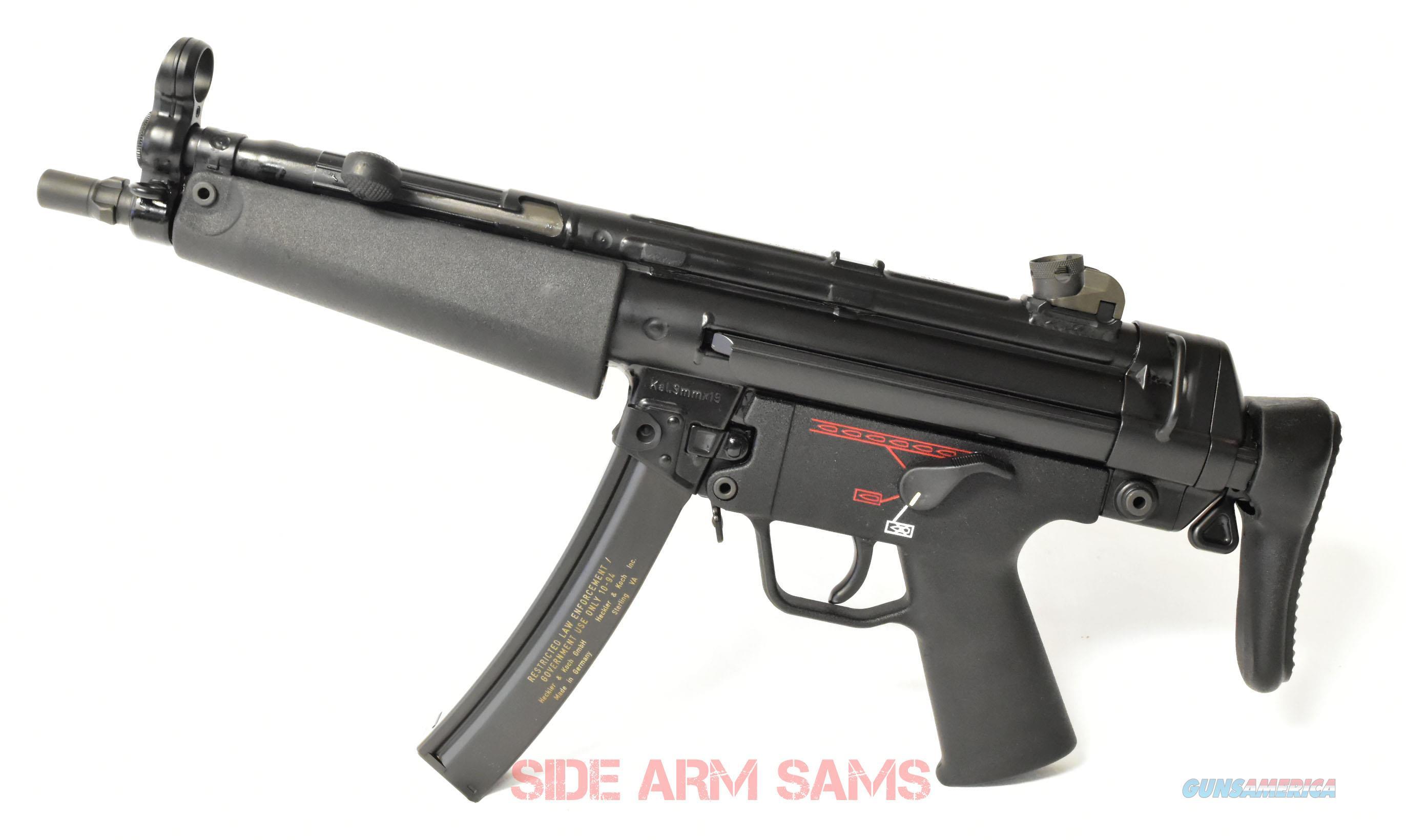 Excellent Condition MP5A3 9mm Pre-Sample Sub-machine Gun  Guns > Rifles > Class 3 Rifles > Class 3 Subguns
