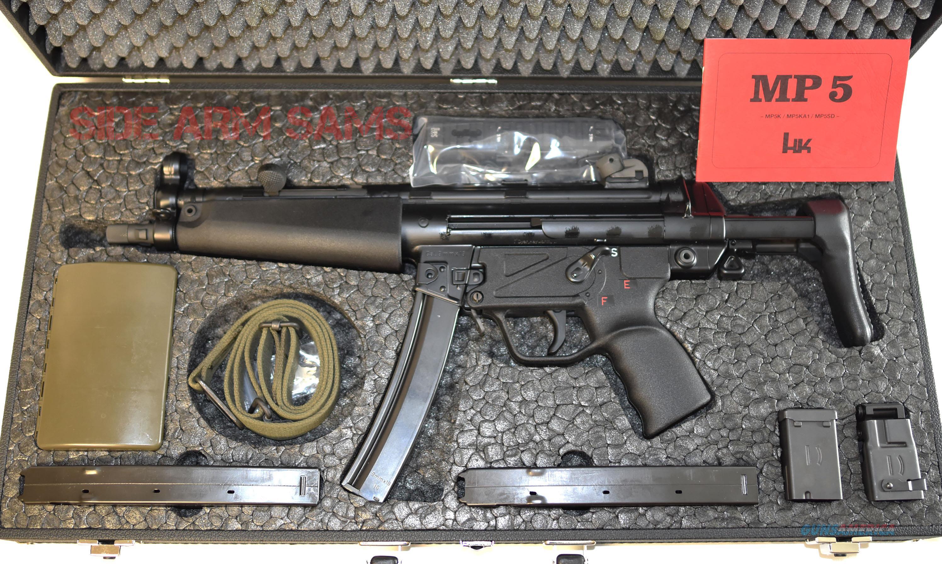 Unfired HK-MP5-N,Qualified Sear/TDyer, German Attache, Awesome Package  Guns > Rifles > Class 3 Rifles > Class 3 Subguns