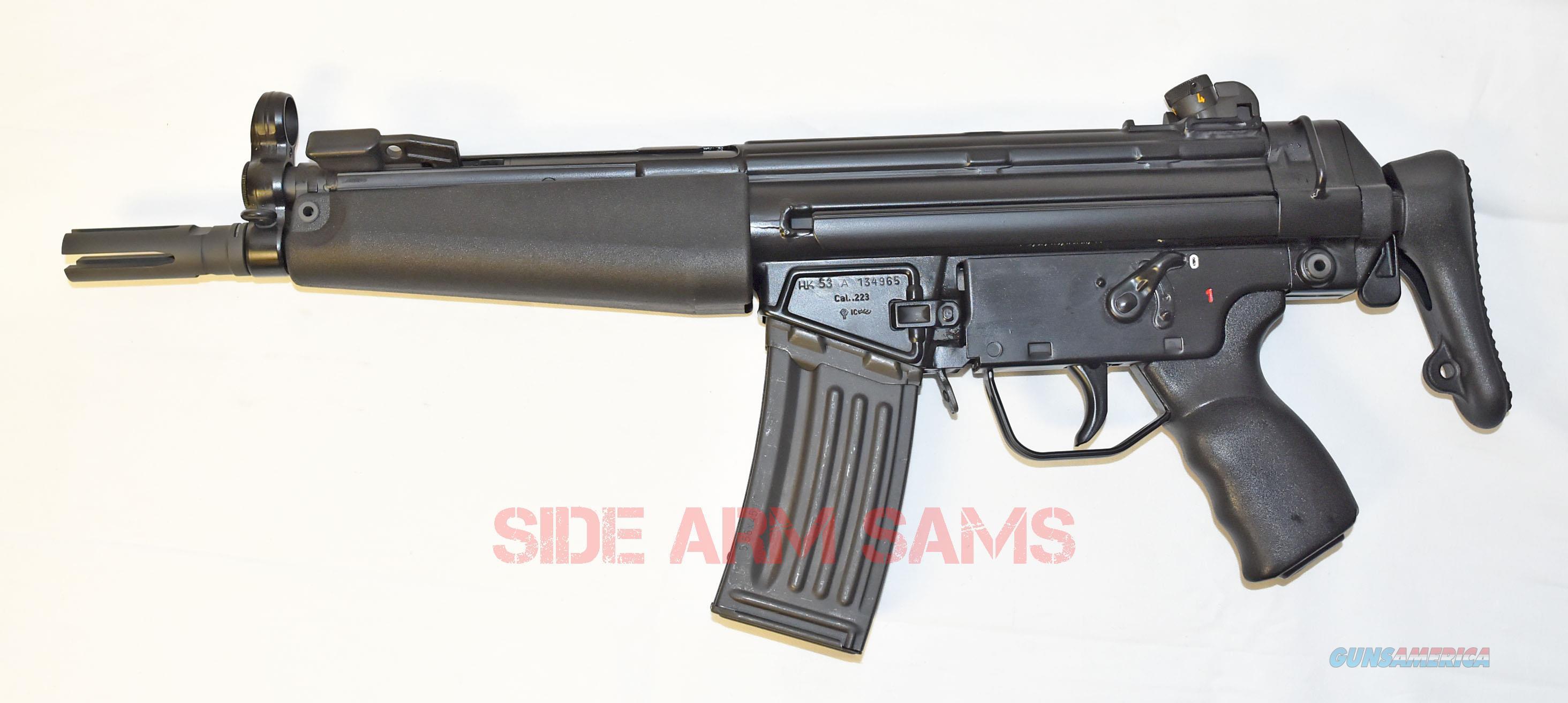 UNFIRED Since Conversion German HK53A3 Short Barrel Rifle by TDYer  Guns > Rifles > Class 3 Rifles > Class 3 Subguns