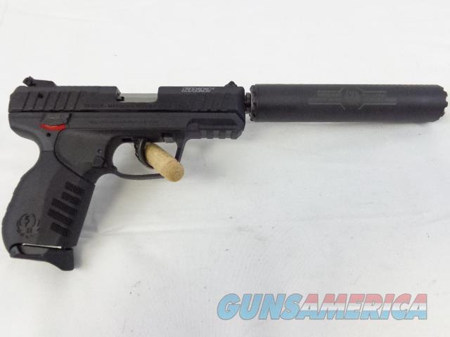 NIB FACTORY RUGER SR-22 & RUGER SR-22 Suppressor, .22LR  Guns > Pistols > Class 3 Pistols > Class 3 Suppressors