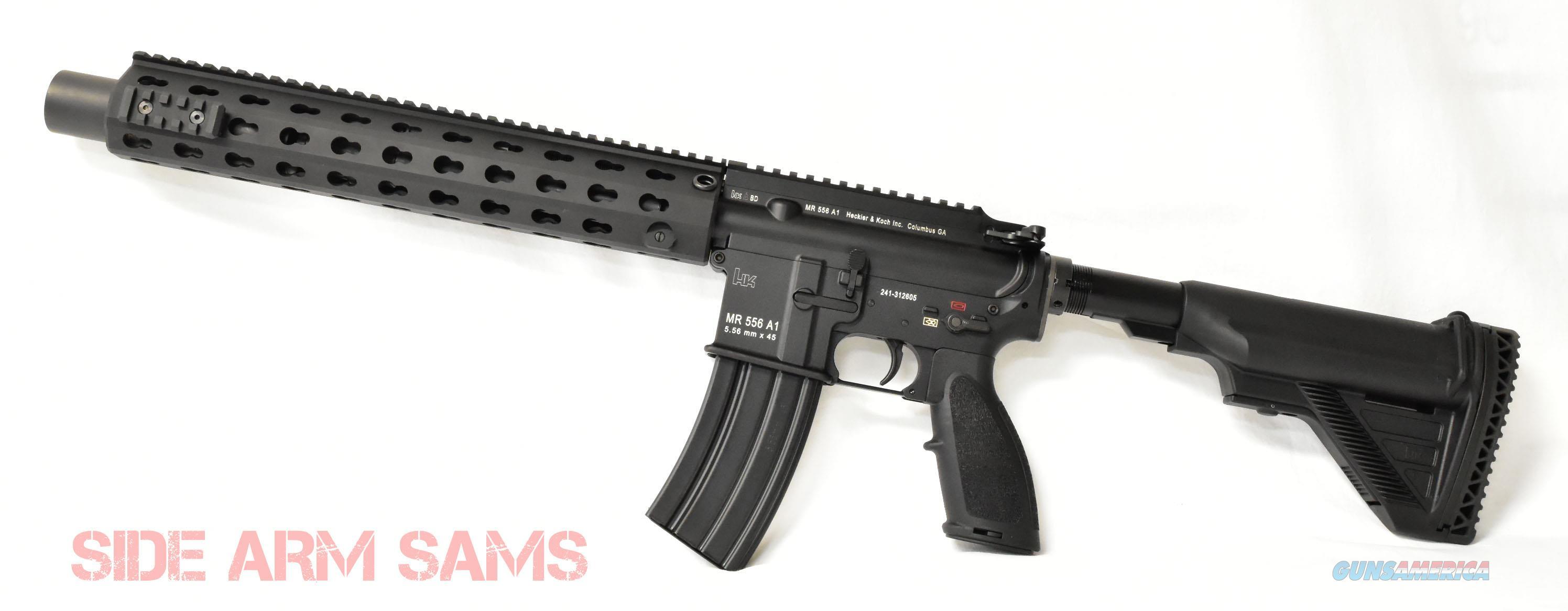 """NEW HK-MR556A1-SD Suppressed 5.56mm 10.4"""" Short Barrel Rifle  Guns > Rifles > Class 3 Rifles > Class 3 Subguns"""