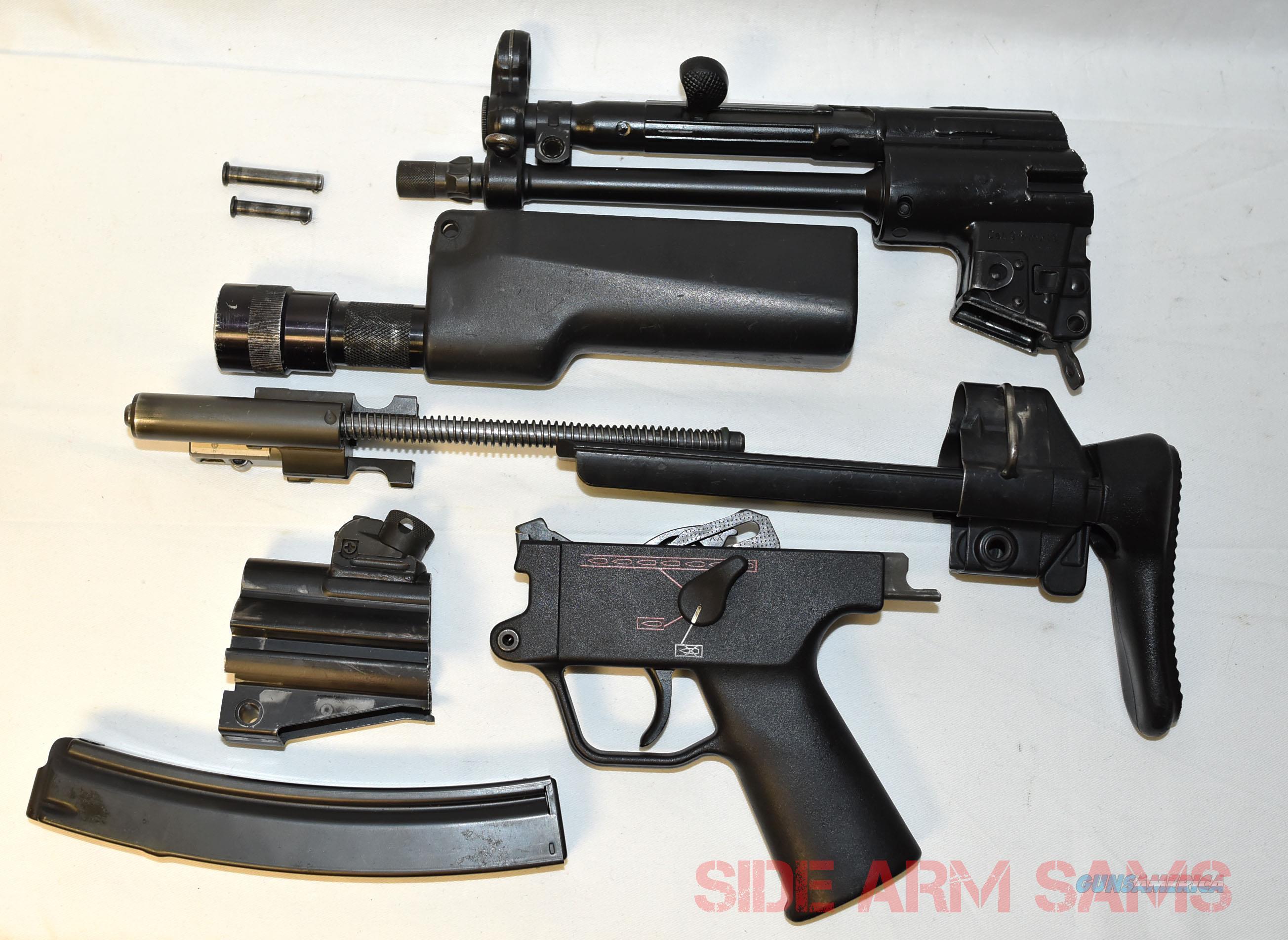Excellent Complete German HK-MP5A3 NAVY Saw-Cut Parts Kit  Non-Guns > Military > De-Milled Weapons