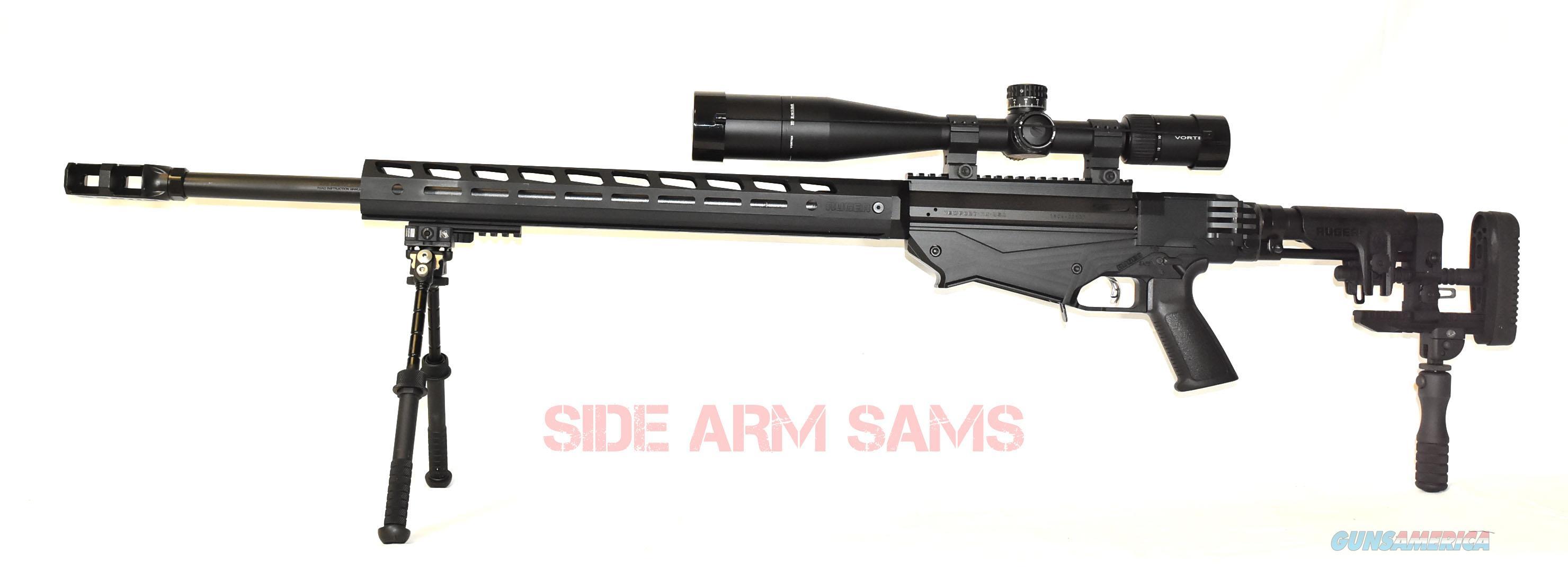 NIB RUGER Precision Rifle System,.338LM, Vortex Viper MRAD, Atlas Bipod/Mono Pod-Black  Guns > Rifles > Ruger Rifles > Precision Rifle Series