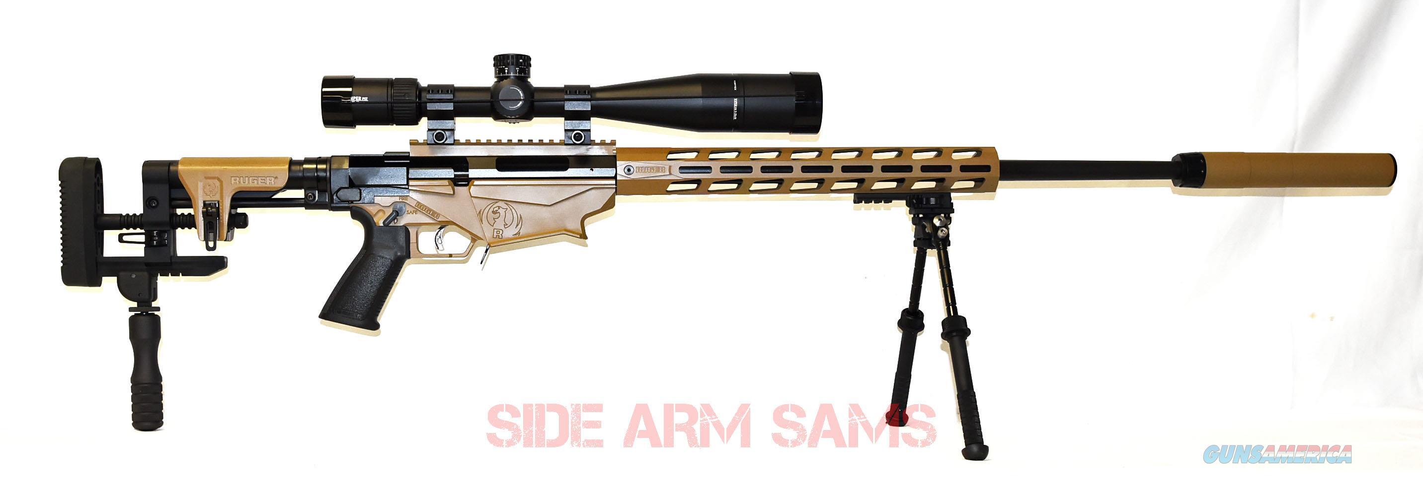 NIB Ruger PRS,6.5CM,Vortex MRAD,Atlas,Bowers 30t Silencer in Barrett Brown   Guns > Rifles > Ruger Rifles > Precision Rifle Series