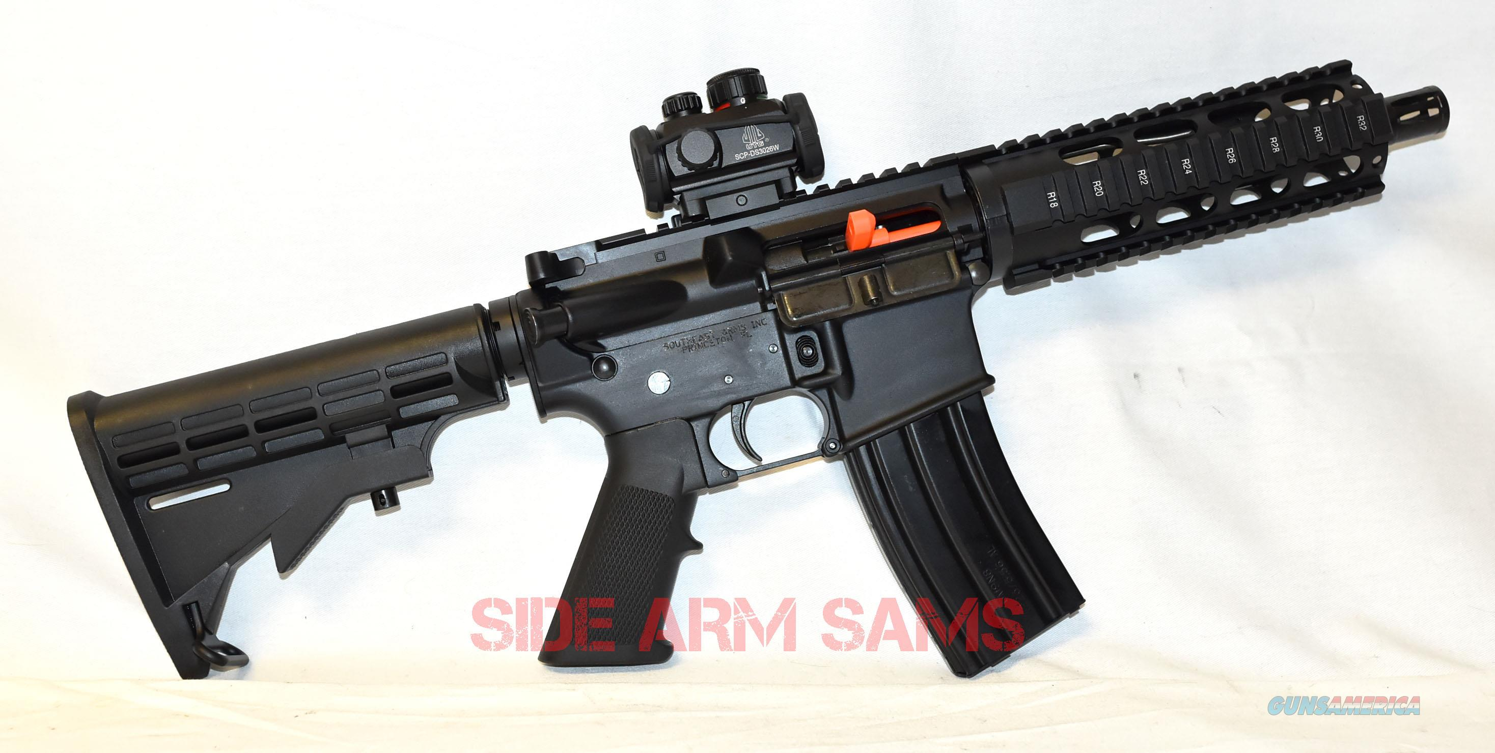 "NIB AM-15 -7.5"" Barrel, Free-Float HG,5.56 SBR,Optics,Case,Free Ship  Guns > Rifles > Class 3 Rifles > Class 3 Subguns"