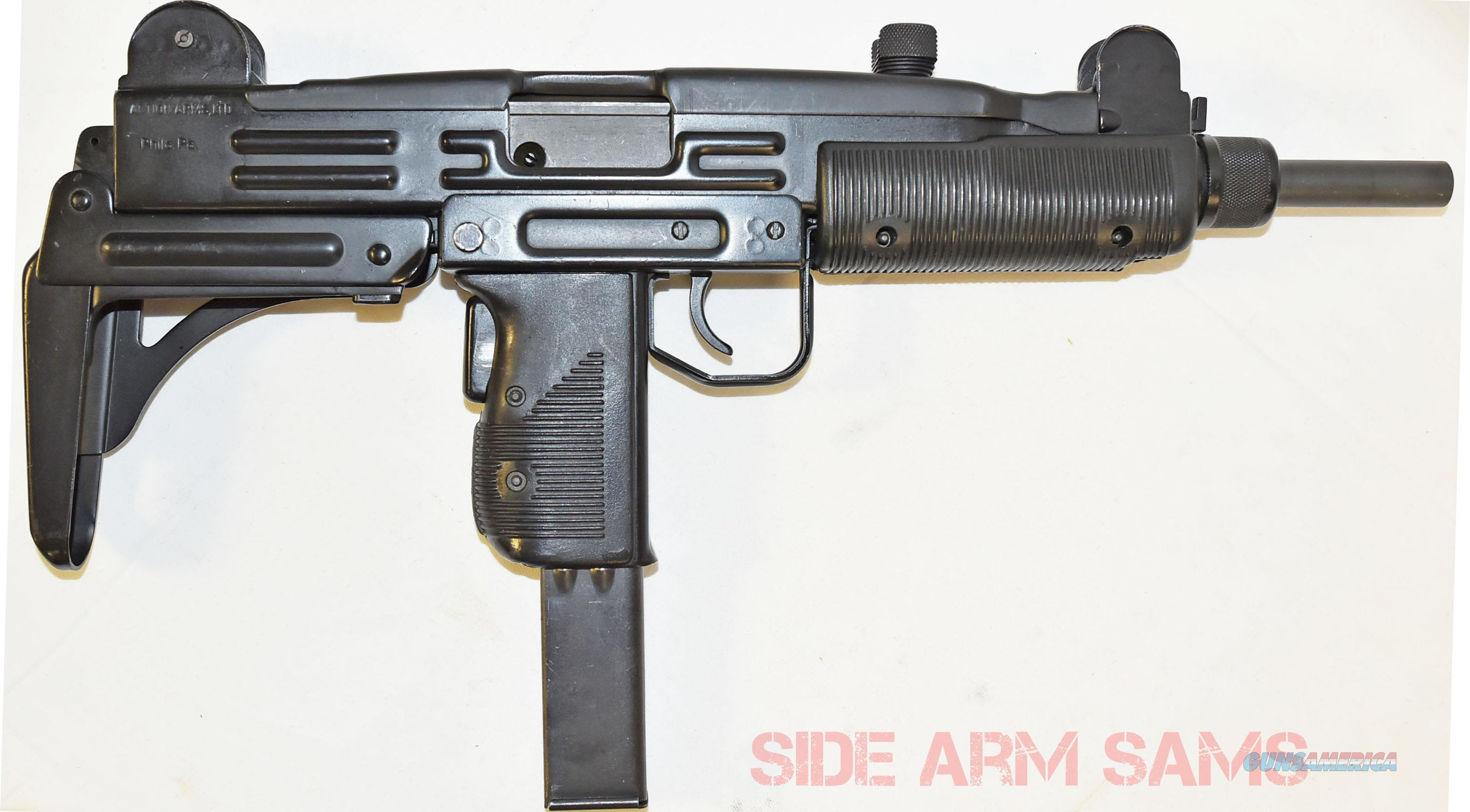 Excellent UZI-9mm Pre-86 Dealer Sample Machinegun  Guns > Rifles > Class 3 Rifles > Class 3 Subguns