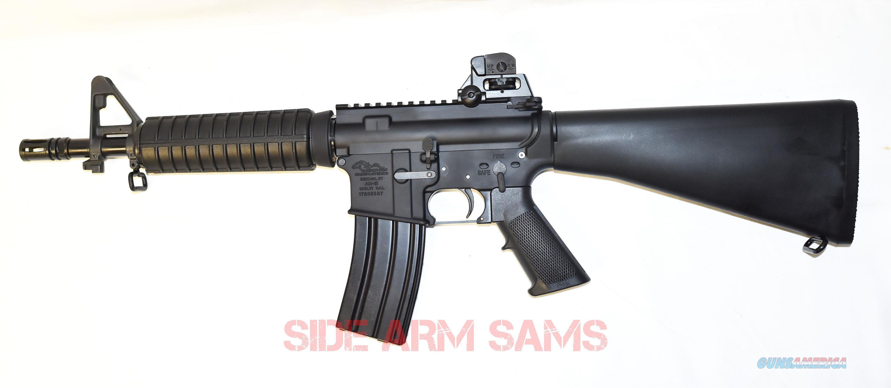 "NIB Anderson AR-15 10.5"" Barrel 5.56 NATO Short Barrel Rifle (SBR)  Guns > Rifles > Class 3 Rifles > Class 3 Subguns"