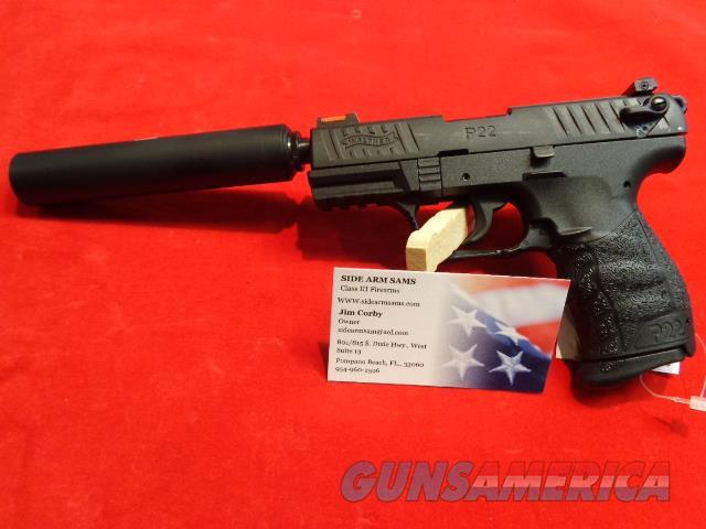 NIB Walther PPQ M2, 22LR Tactical & Gemtech Outbach IId  Guns > Pistols > Class 3 Pistols > Class 3 Suppressors