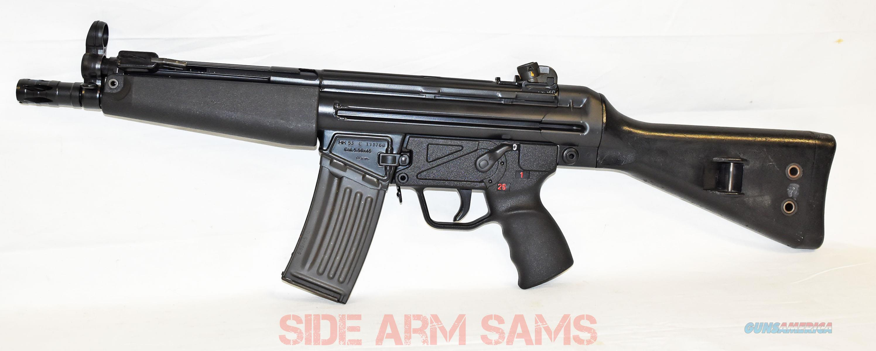 HK53A2 MACHINE GUN DEALER PRE-SAMPLE 5.56  Guns > Rifles > Class 3 Rifles > Class 3 Subguns