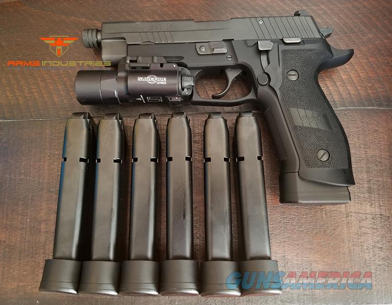 New Sig Sauer P226 TACOPS TB 9MM w/ Surefire X300 Holster  Guns > Pistols > Sig - Sauer/Sigarms Pistols > P226