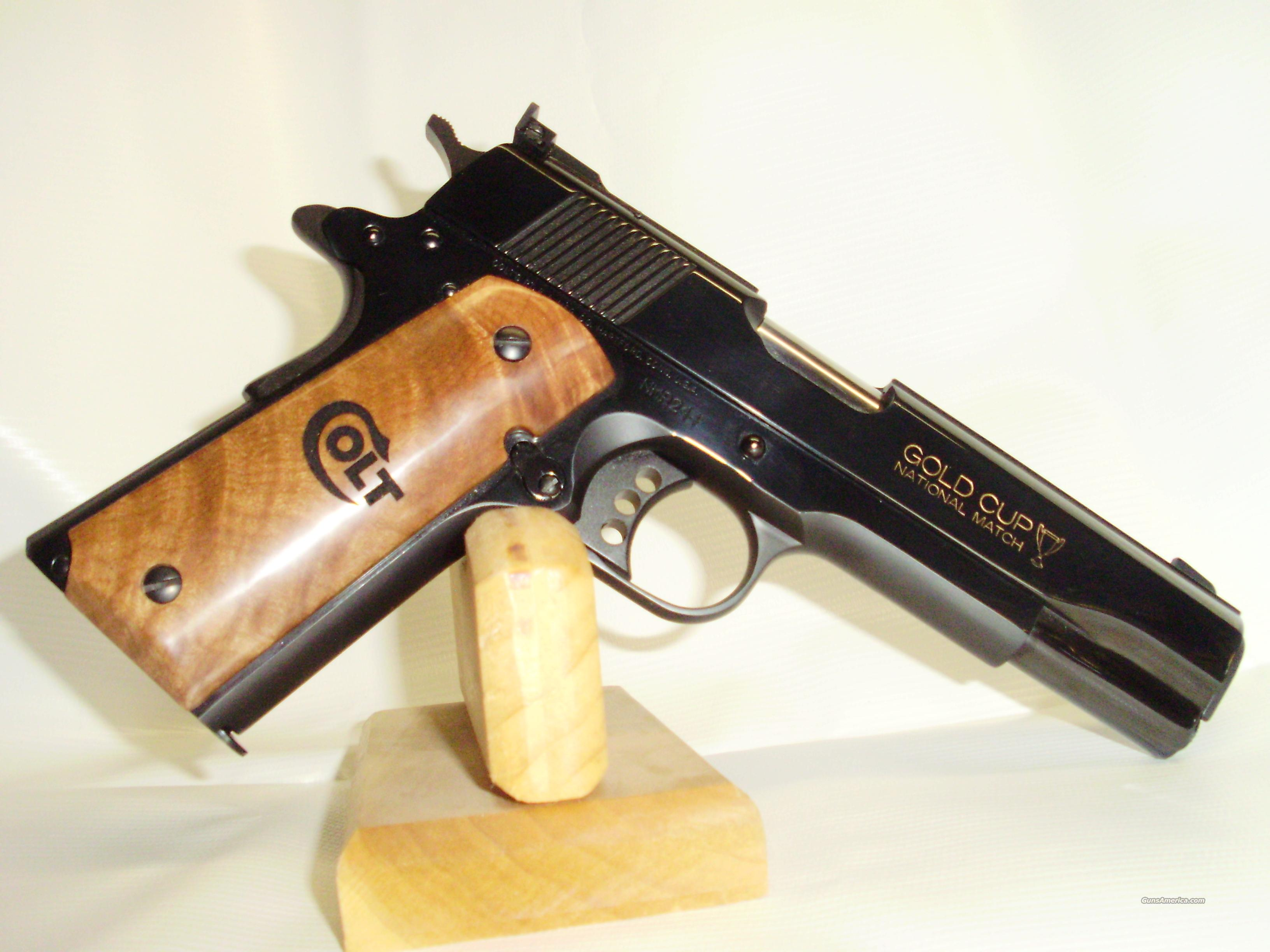 Colt Gold Cup National Match Talo Edition  Guns > Pistols > Colt Automatic Pistols (1911 & Var)