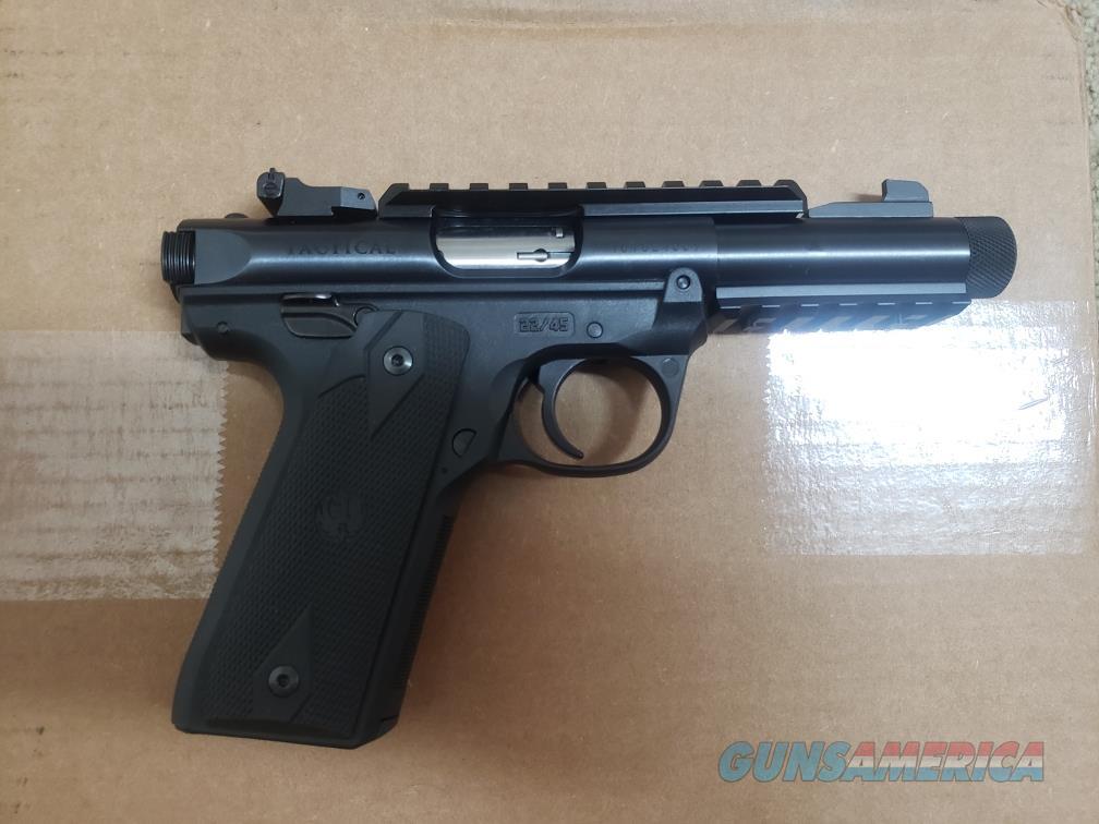 Ruger Mark IV 22/45 Tactical  Guns > Pistols > Ruger Semi-Auto Pistols > 22/45