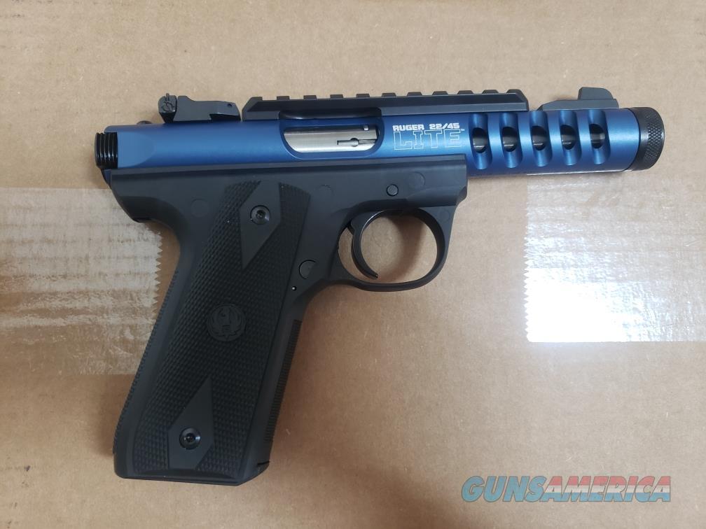 Ruger 22/45 LITE Blue Anodize  Guns > Pistols > Ruger Semi-Auto Pistols > 22/45
