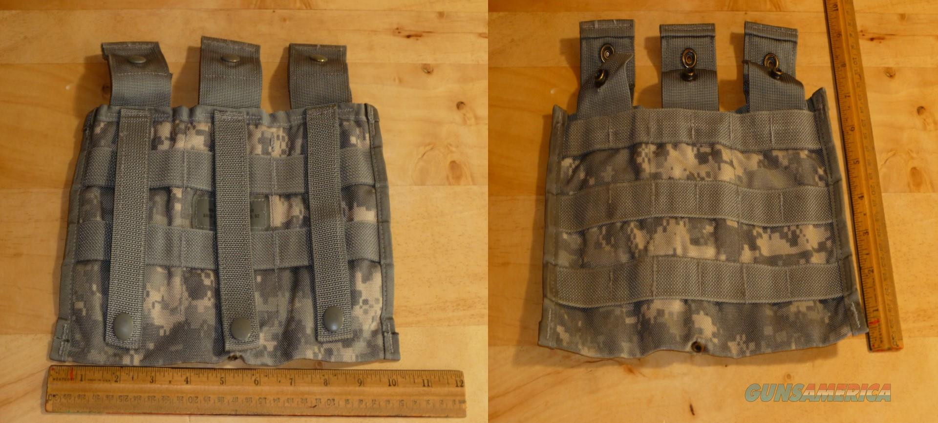 Lot of 5 Military 3 Mag M4 Pouch's Free Shipping  8465-01-525-0598   Non-Guns > Tactical Equipment/Vests