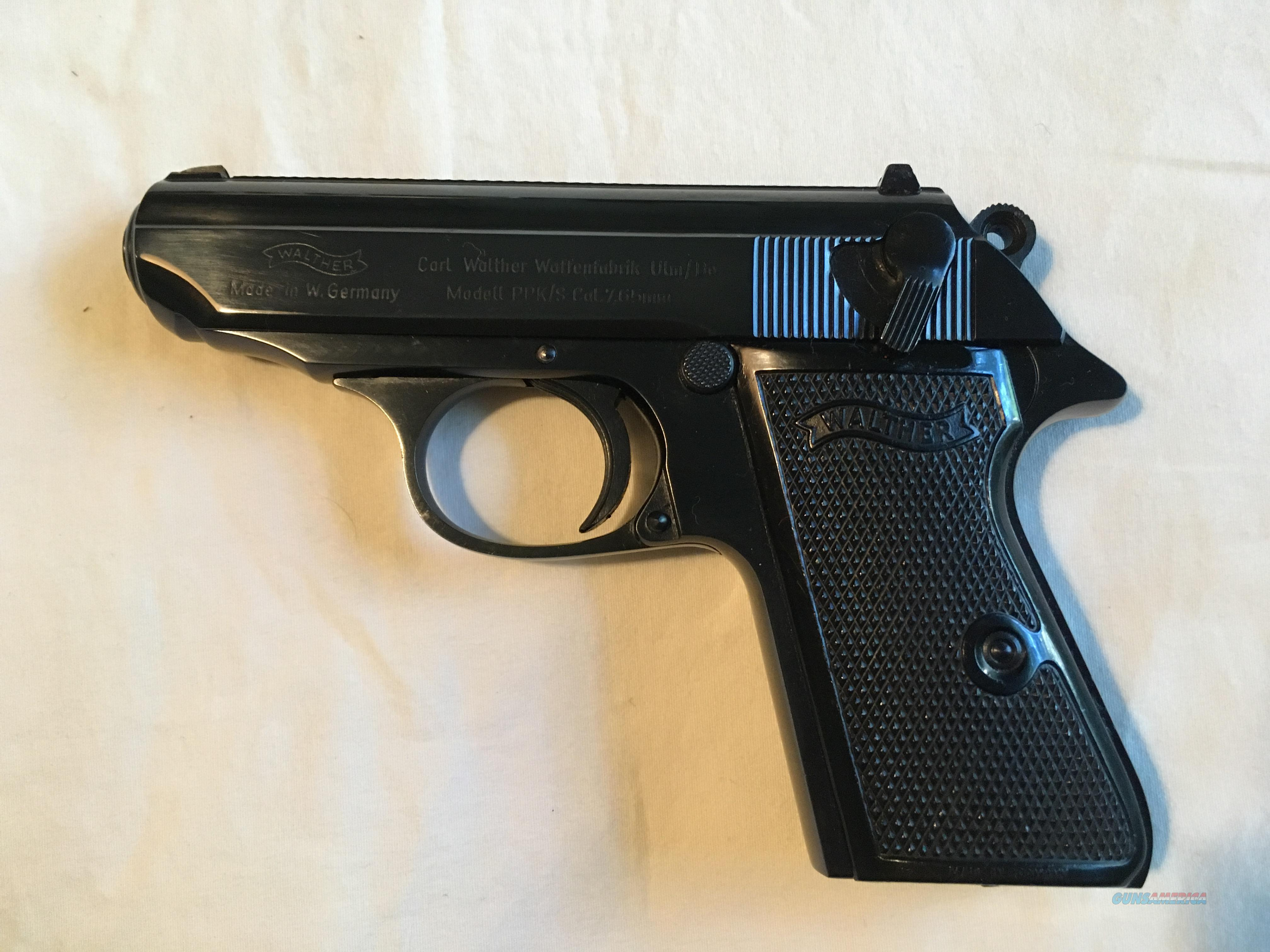 German Walther ppk/s .32 ACP  Guns > Pistols > Walther Pistols > Post WWII > PPK Series