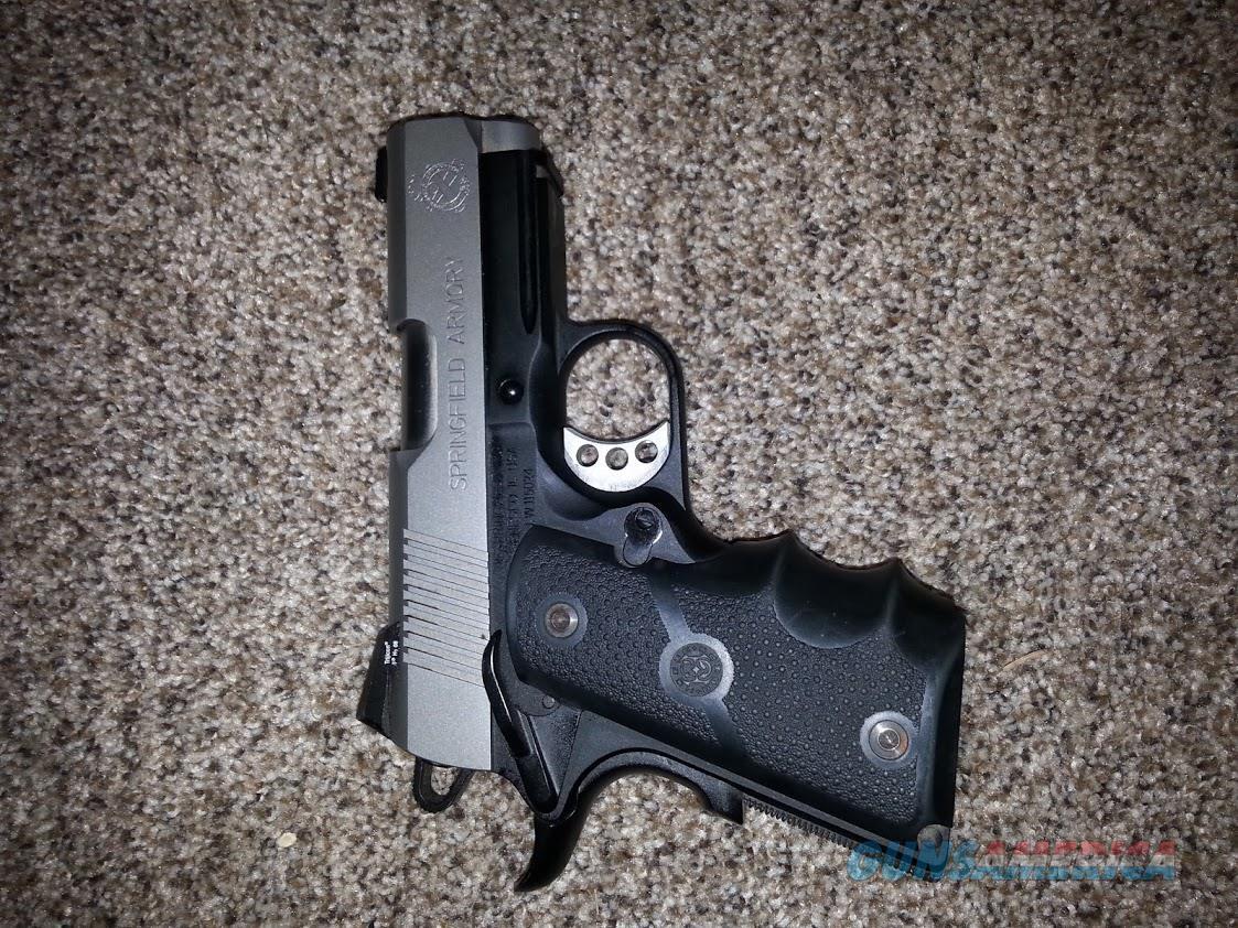 Springfield 1911 Micro Compact .45  Guns > Pistols > Springfield Armory Pistols > 1911 Type