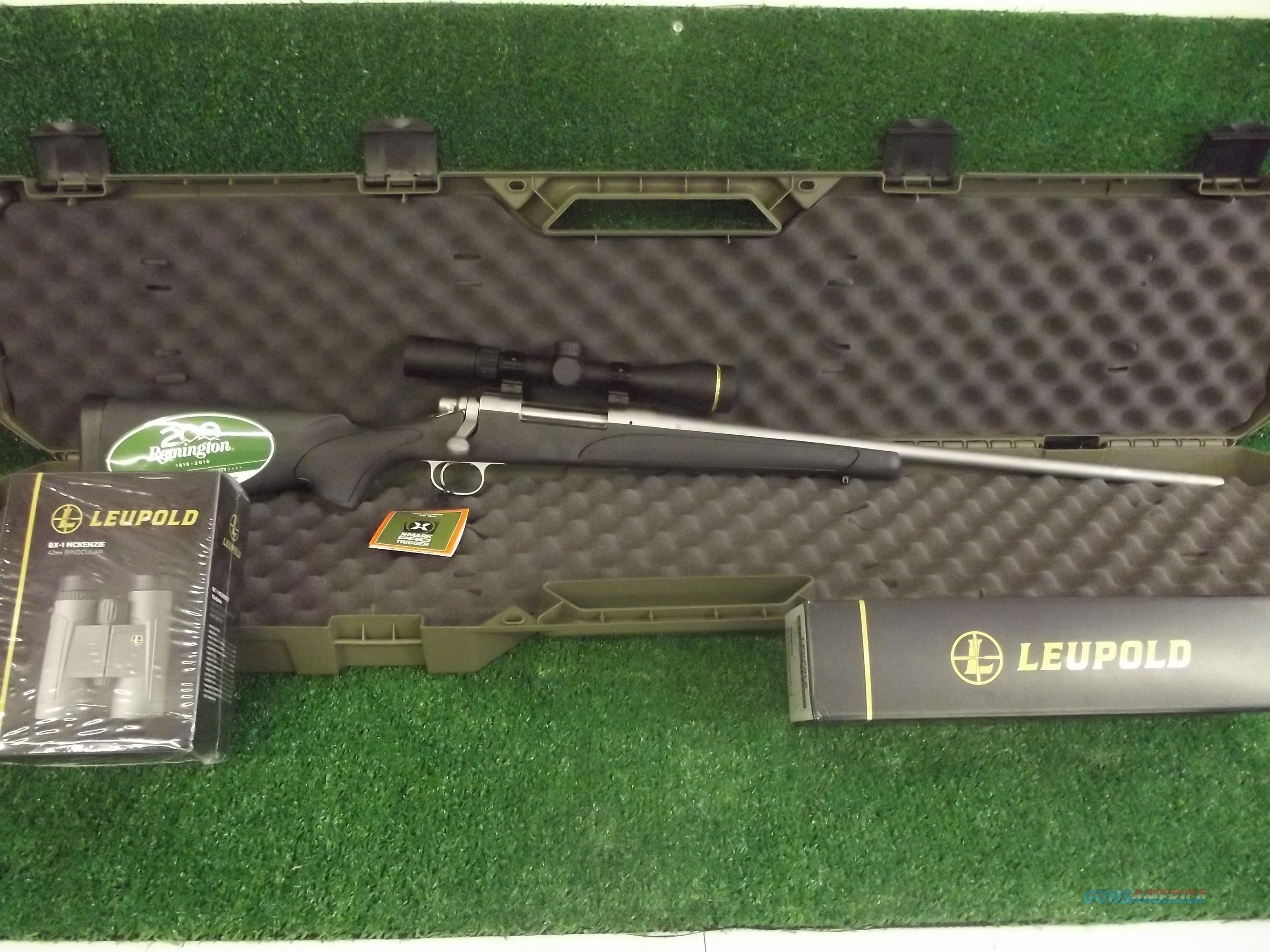 Remington 700 ADl Stainless Steel 270 win w/Leupold VX-Freedom  Guns > Rifles > Remington Rifles - Modern > Model 700 > Sporting