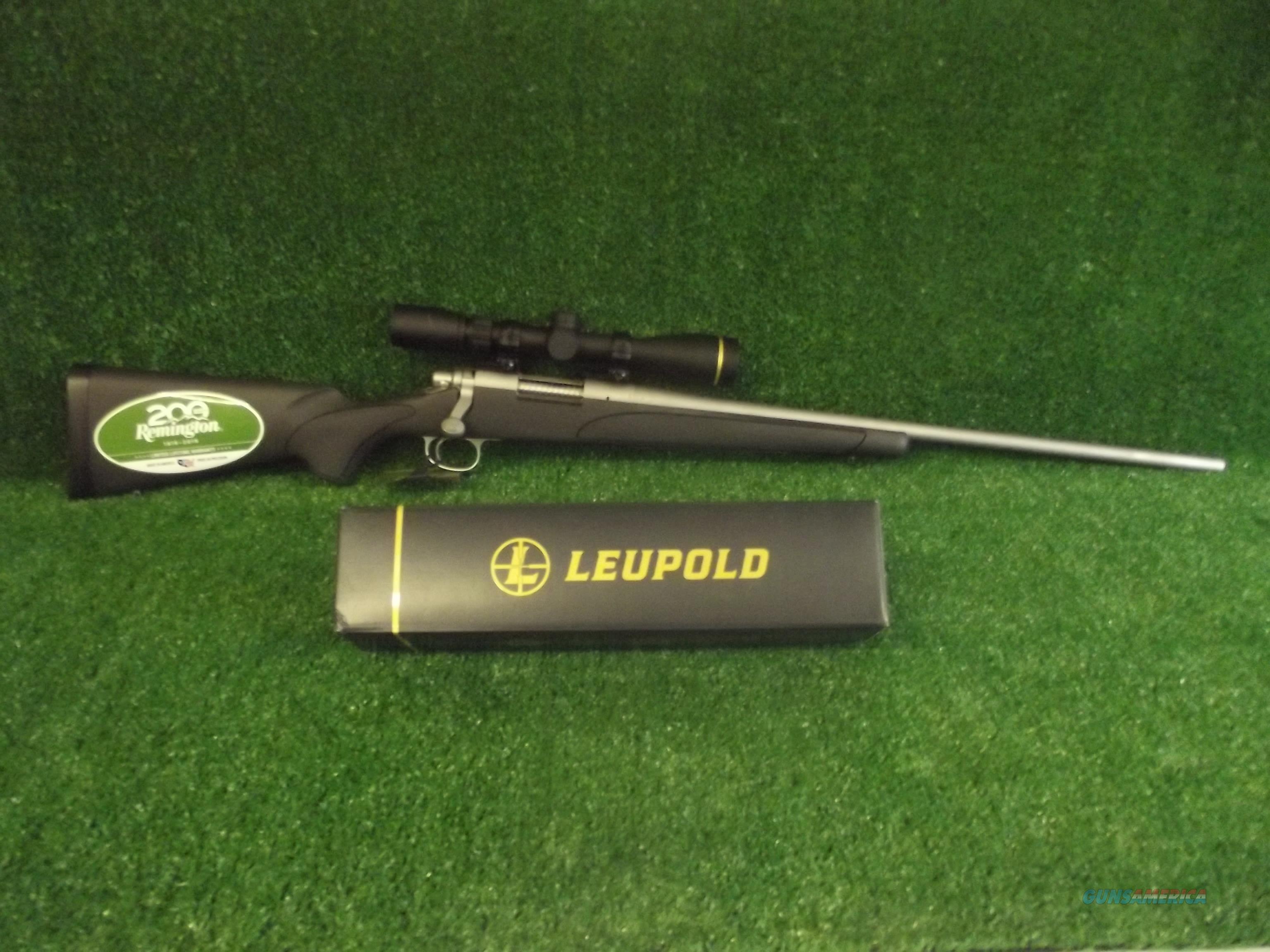Remington 700 ADl Stainless Steel 243 win w/Leupold VX-Freedom  Guns > Rifles > Remington Rifles - Modern > Model 700 > Sporting