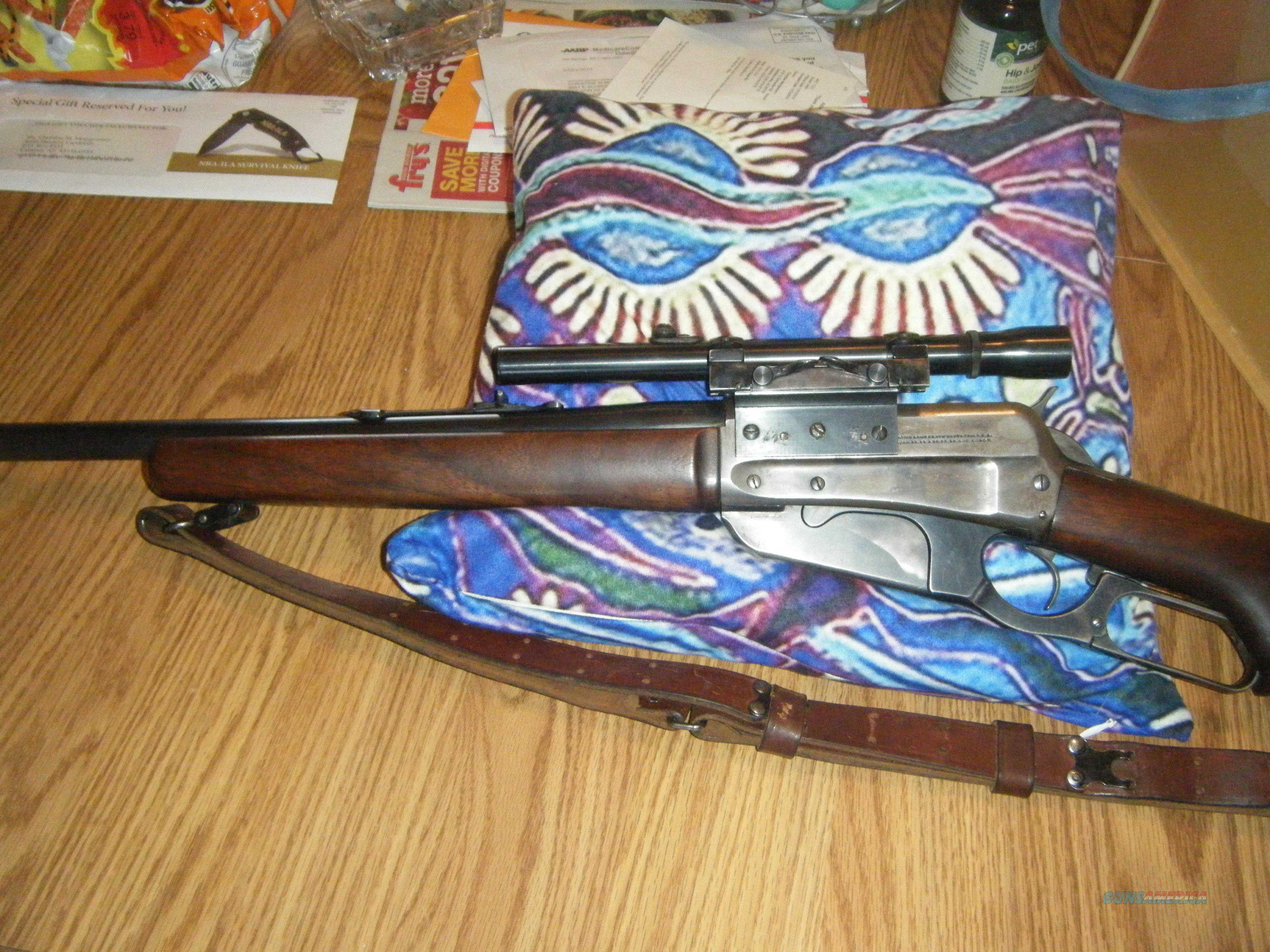 Winchester Model 1895 30 US Rifle  COLLECTORS ITEM  Guns > Rifles > Winchester Rifle Commemoratives