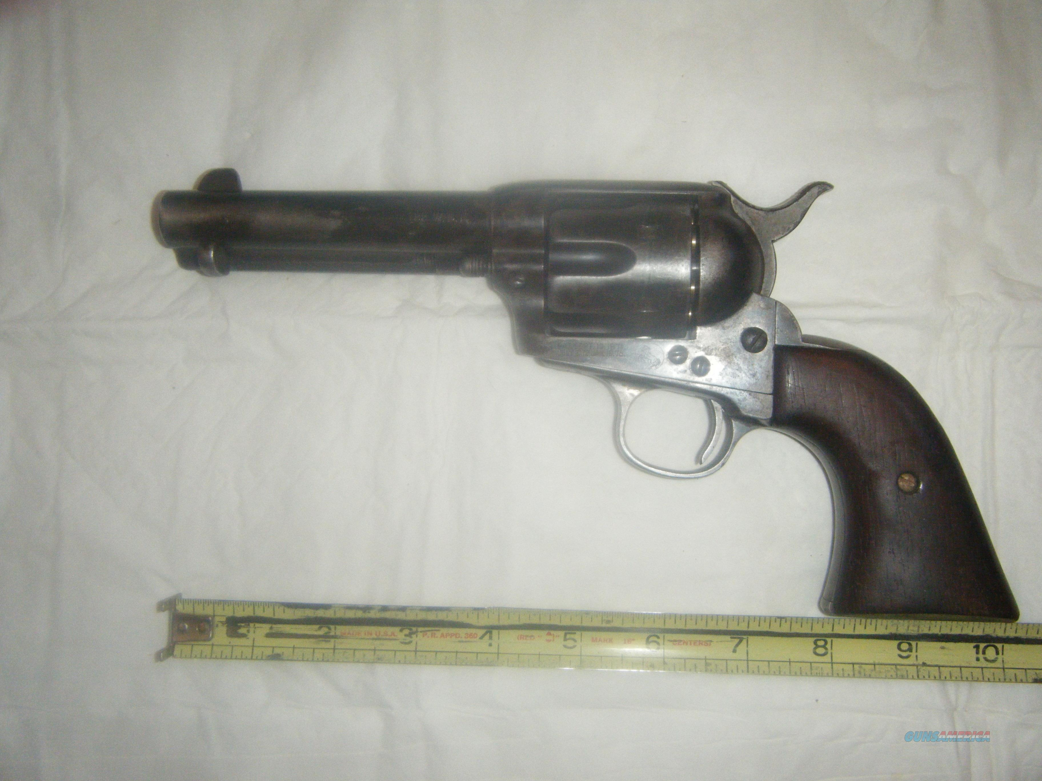 Colt 32-20 single action, COLLECTORS ITEM  Guns > Pistols > Colt Single Action Revolvers - 2nd Gen.