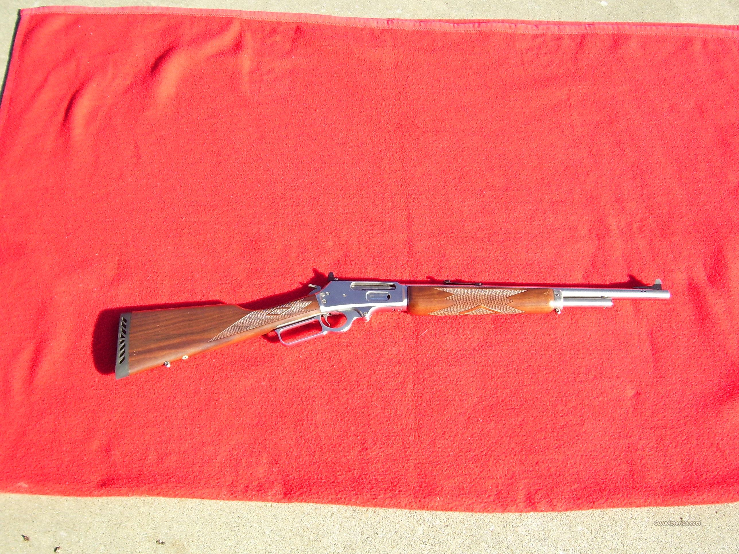 Marlin 1895GS Stainless Guide Gun  Guns > Rifles > Marlin Rifles > Modern > Lever Action