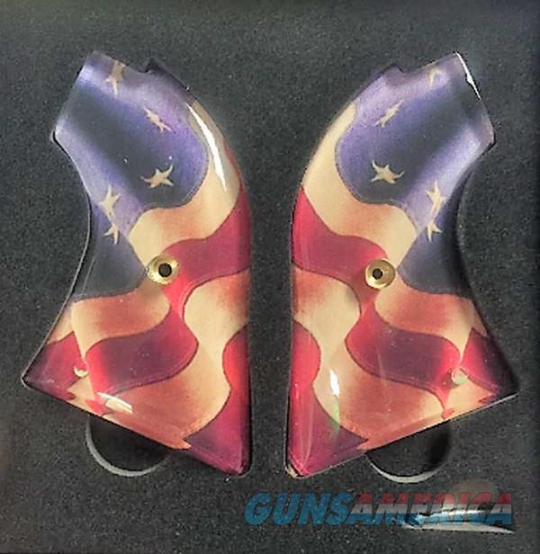 Premium Gun Grips Heritage Rough Rider .22 & .22 Mag US Flag  Non-Guns > Gunstocks, Grips & Wood