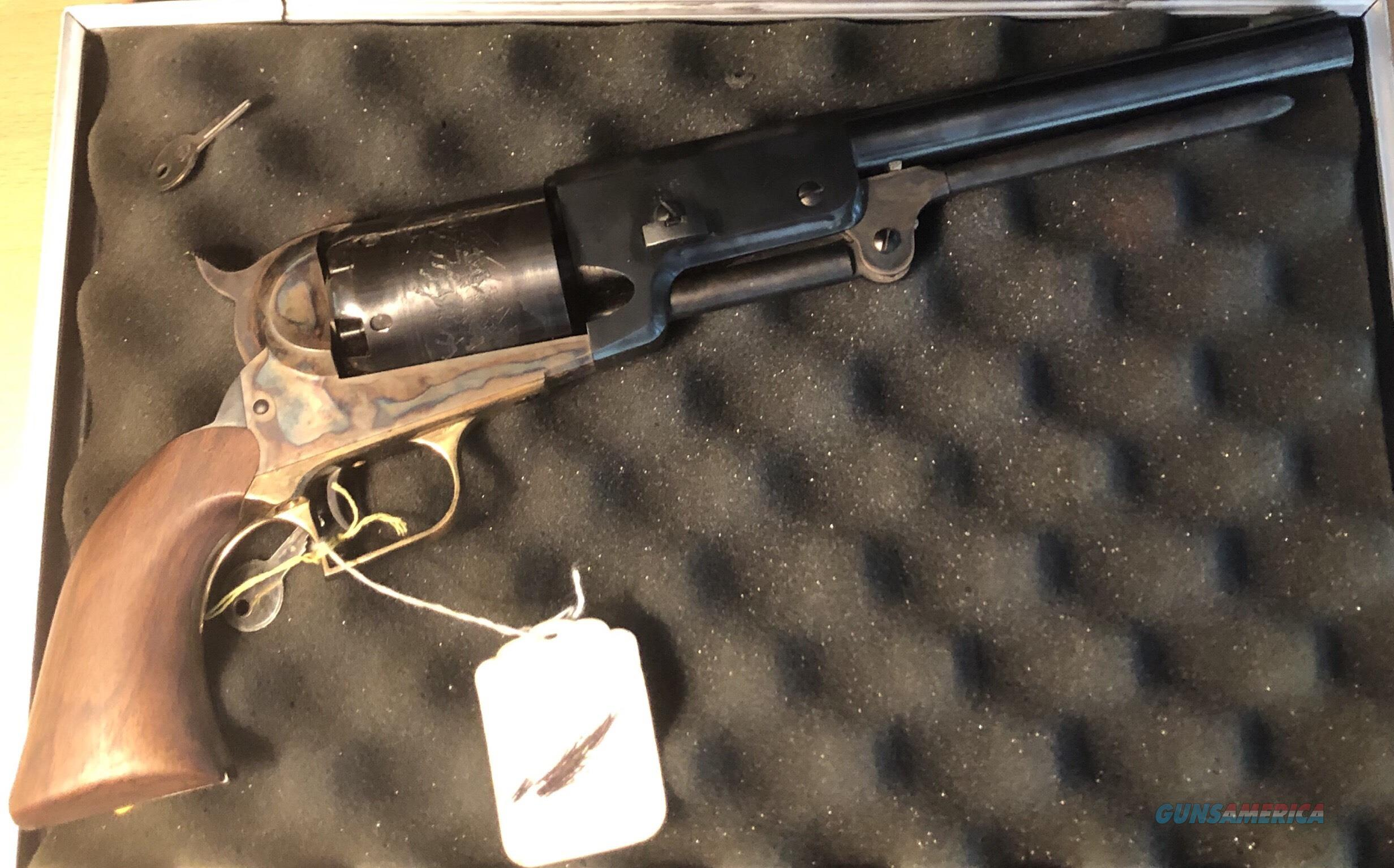 "1847 Walker Black Powder Revolver 44 Caliber 9"" Barrel Steel Frame Blue  Non-Guns > Black Powder Cartridge"