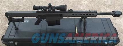 Barrett M82A1 .50 cal BMG  Guns > Rifles > Barrett Rifles