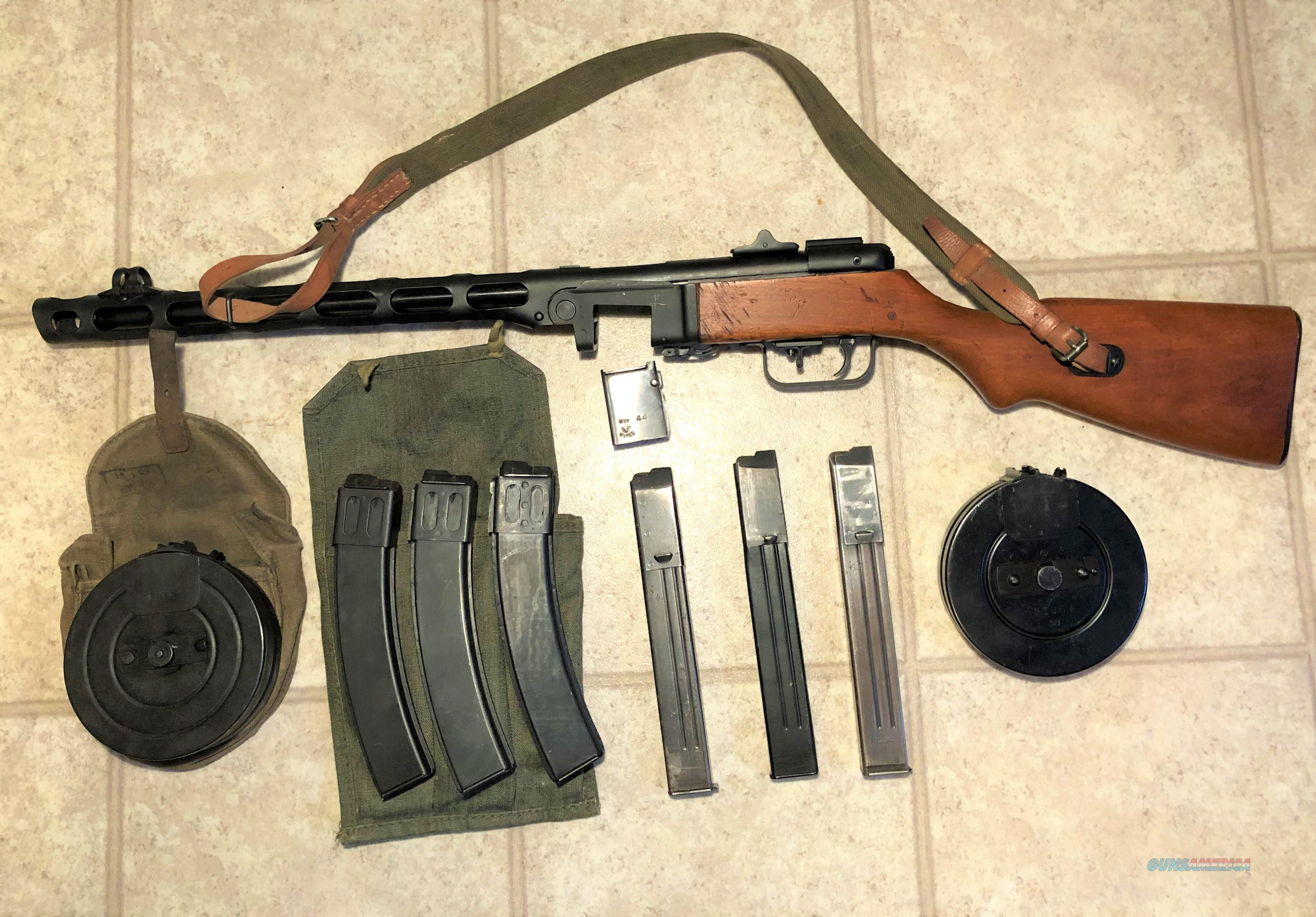Wise PPSh41 / MP41(r) Semi Conversion9x19 Very Good Condition  Guns > Rifles > A Misc Rifles