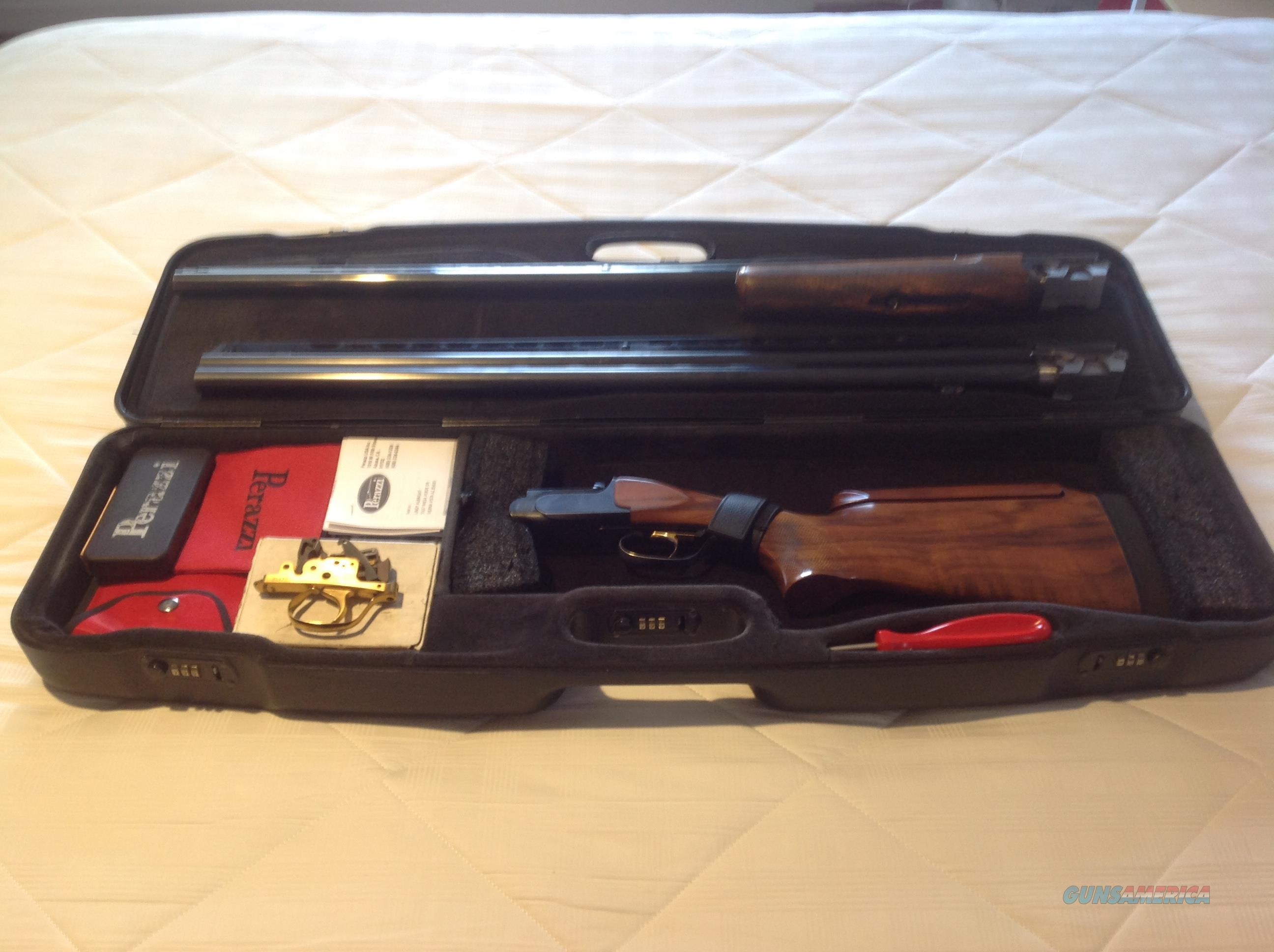 Perazzi MX-10 Trap Combo  Guns > Shotguns > Perazzi Shotguns