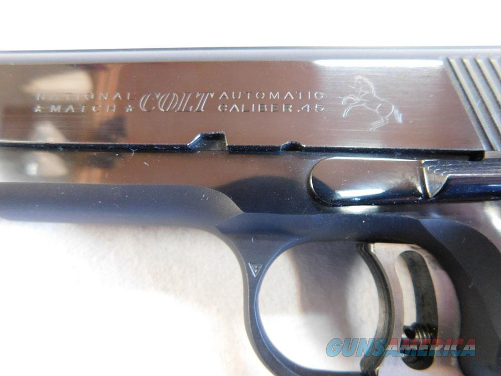A collectors 1968 Colt Pre-1970 National Match .45  Guns > Pistols > Colt Automatic Pistols (1911 & Var)