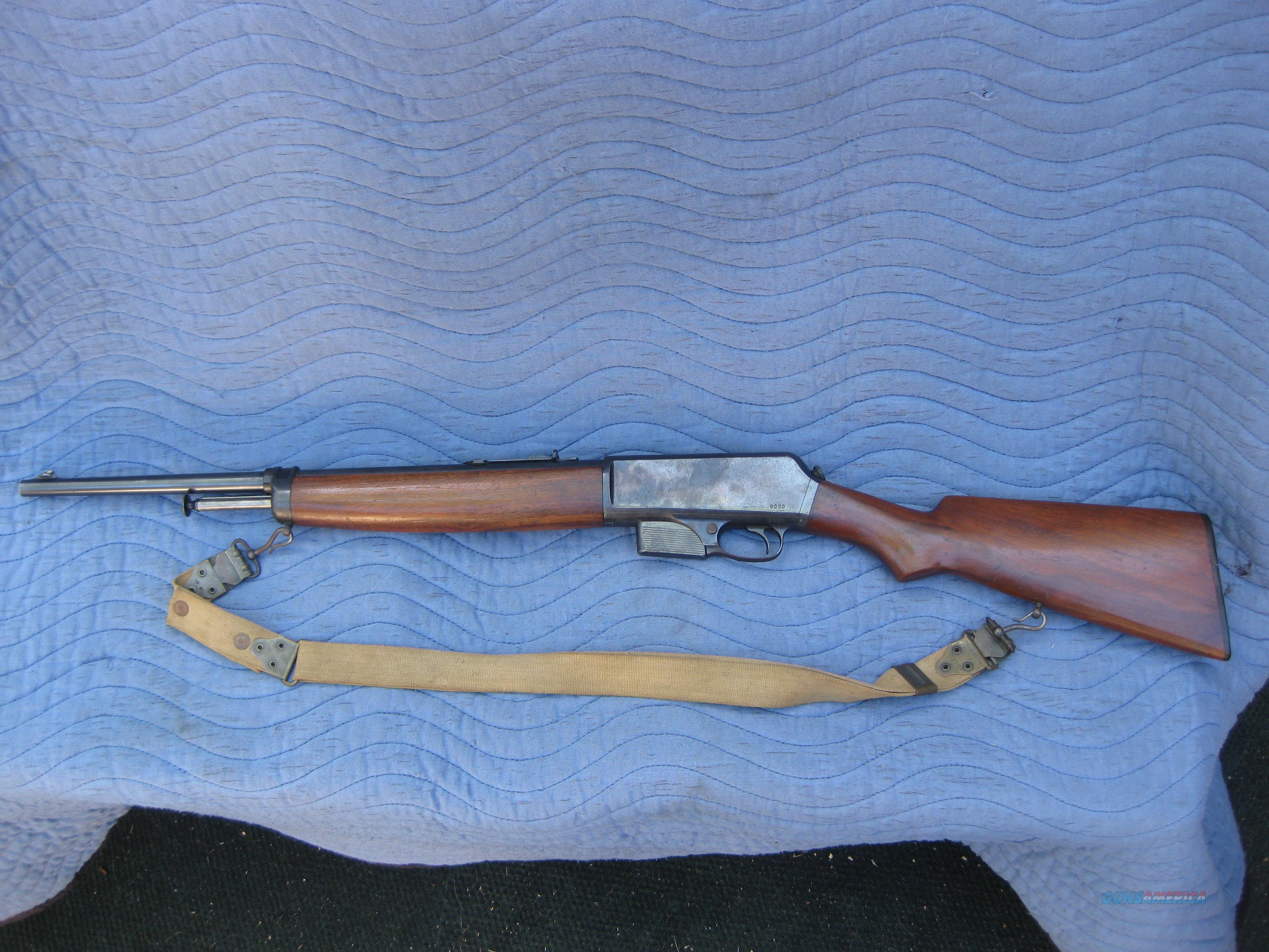 WINCHESTEER MODEL 1910 (MODEL 10) SELF-LOADING 401 CALIBER  Guns > Rifles > Winchester Rifles - Modern Bolt/Auto/Single > Autoloaders