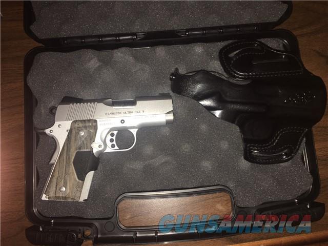 Kimber Ultra TLE ii Stainless  Guns > Pistols > Kimber of America Pistols > 1911