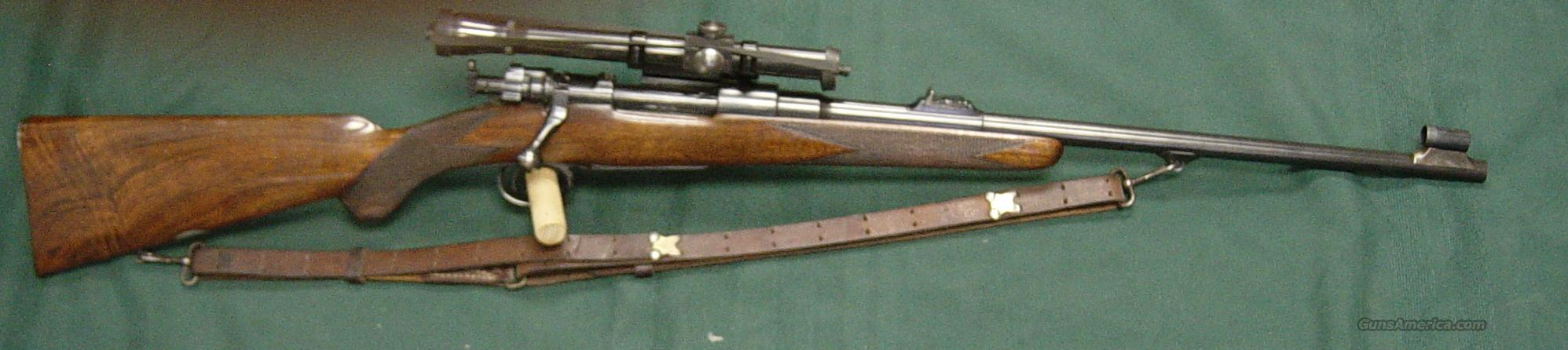 J.Rigby Mauser action rifle  Guns > Rifles > Rigby Rifles