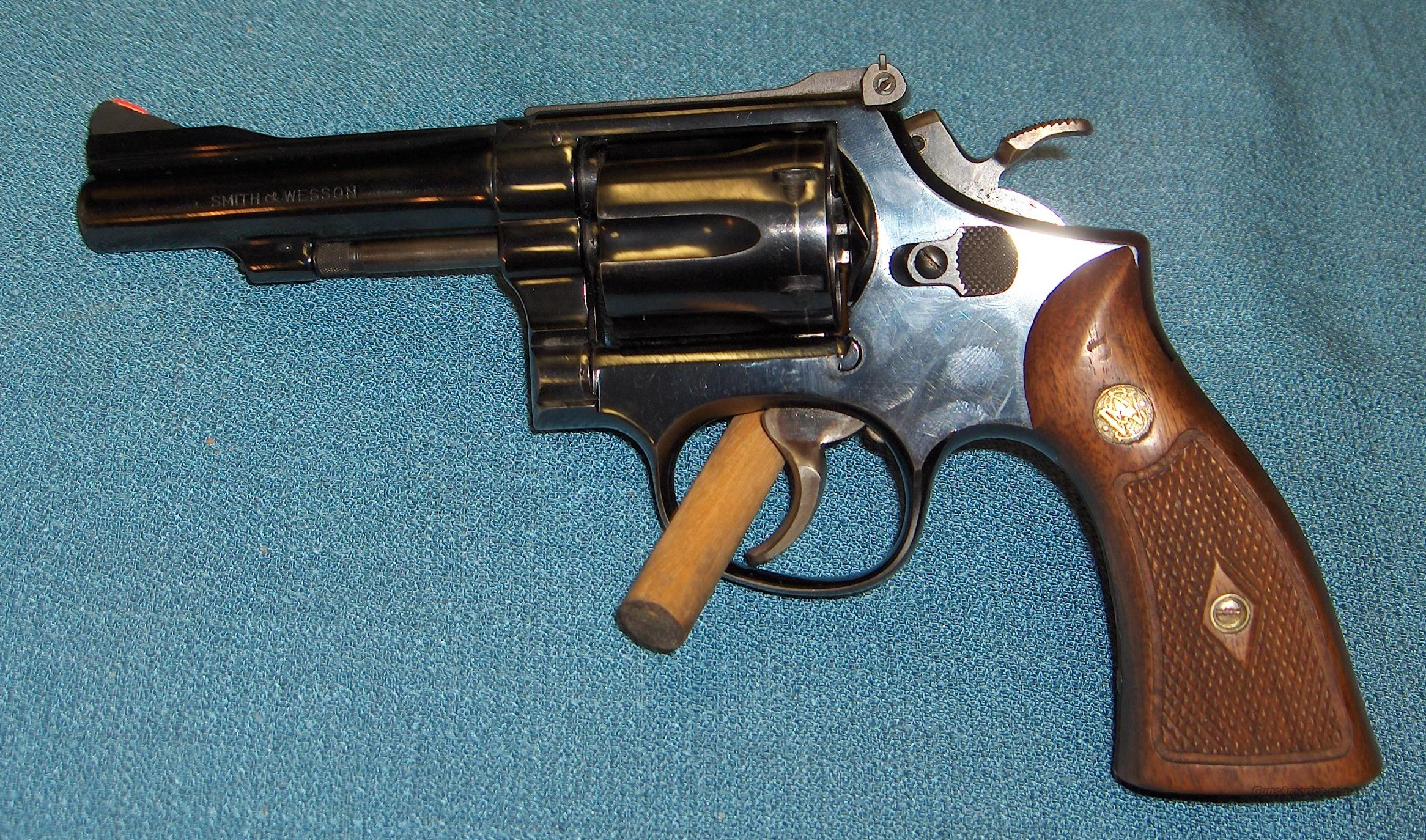 Smith & Wesson Model 15  Guns > Pistols > Smith & Wesson Revolvers > Full Frame Revolver