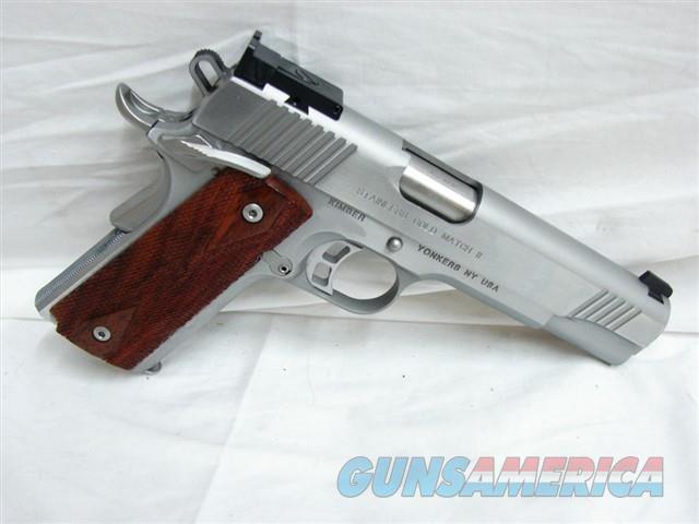 Kimber Stainless Gold Match II 45 ACP 32009  Guns > Pistols > Kimber of America Pistols > 1911