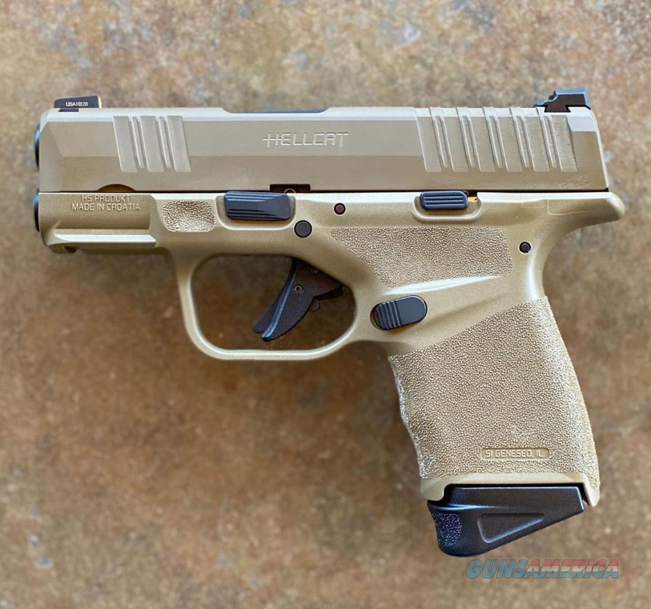 Springfield Hellcat FDE 9MM | Free Shipping | No CC Fees  Guns > Pistols > Standard Mfg. Pistols