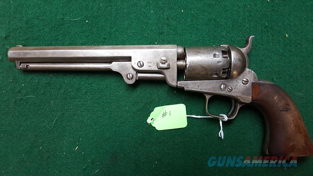 COLT SECOND MODEL NAVY  Guns > Pistols > Colt Percussion Revolver - Pre-1899