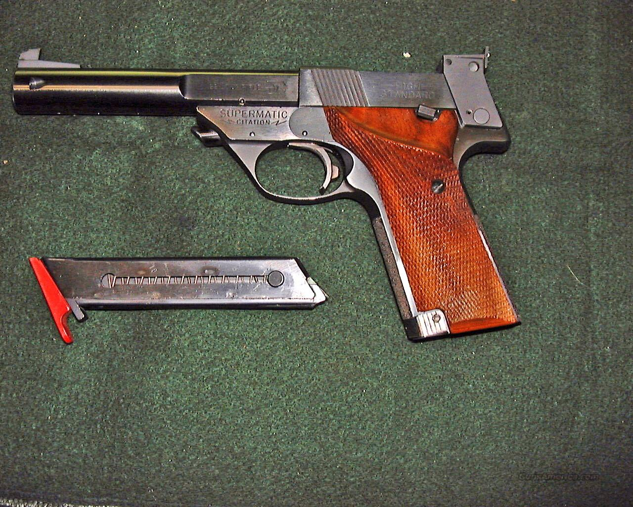 High Standard Supermatic Citation Model106 Military  Guns > Pistols > High Standard Pistols