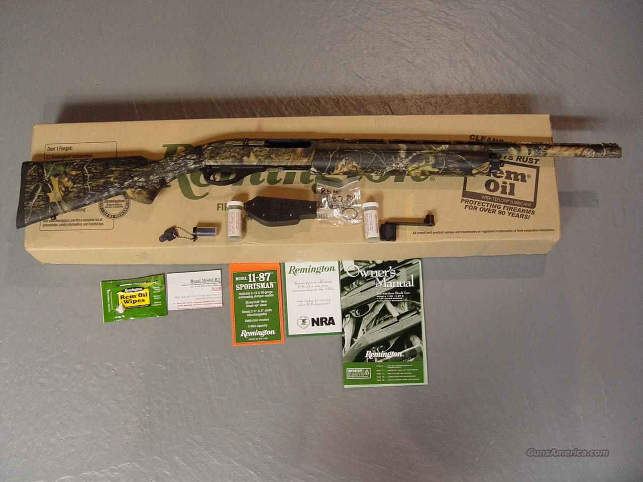 Remington 11-87 20ga Youth Model Camo Proported  Guns > Shotguns > Remington Shotguns  > Autoloaders > Hunting