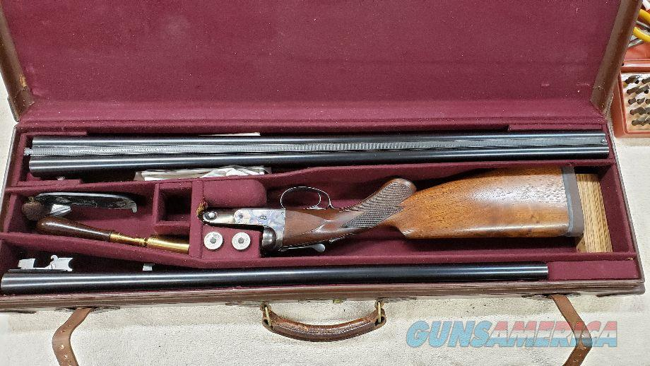 Parker VHE 12 Ga. Double.  Cased Two Barrel Set  Guns > Shotguns > Parker Shotguns
