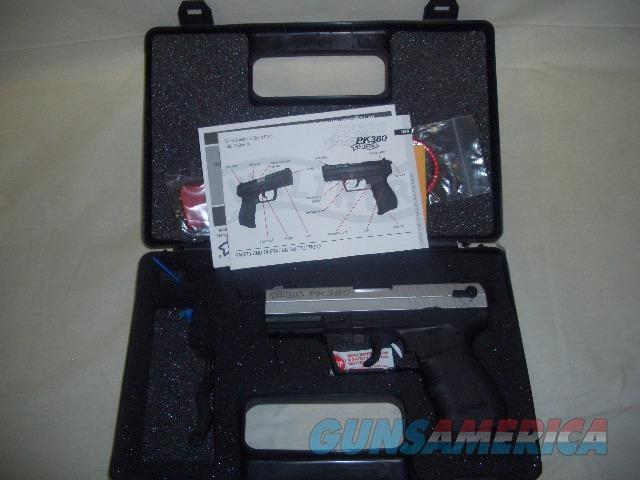 WALTHER PK380 NICKLE  Guns > Pistols > Walther Pistols > Post WWII > PK380