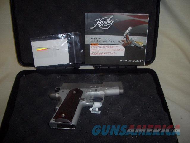 KIMBER STAINLESS ULTRA CARRY II IN 45 ACP  Guns > Pistols > Kimber of America Pistols > 1911