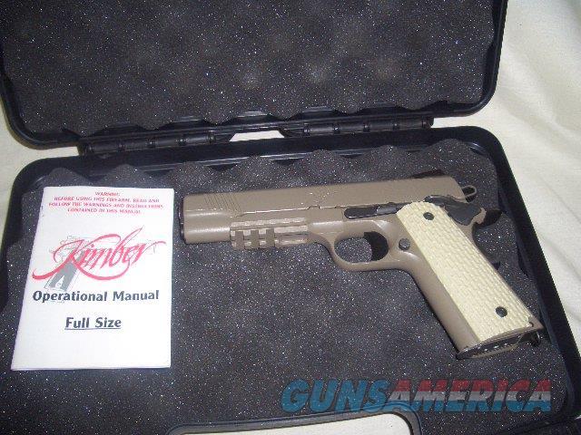 KIMBER DESERT WARRIOR IN 45ACP  Guns > Pistols > Kimber of America Pistols > 1911