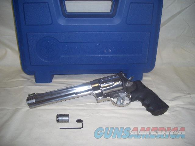 SMITH AND WESSON 460 XVR STAINLESS IN 460 MAG  Guns > Pistols > Smith & Wesson Revolvers > Full Frame Revolver